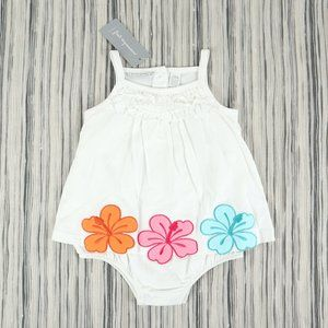 FIRST IMPRESSIONS sunsuit, girl's size 18M